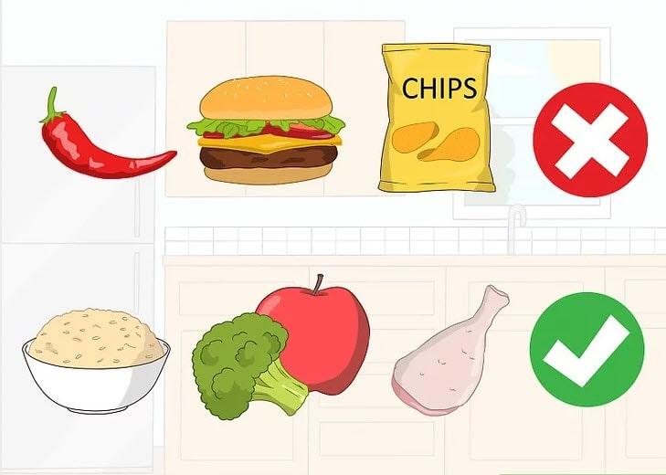 مواد غذایی مناسب درمان فیستول