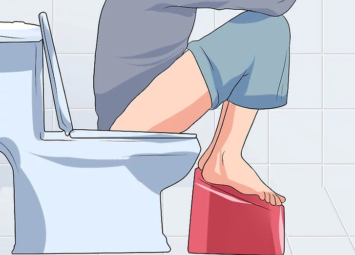 نحوه نشستن در توالت